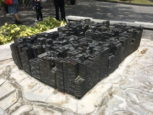 A model of Kowloon walled city