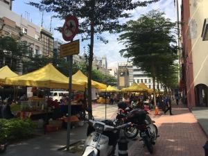 Small food stall in Kuala Lumpur