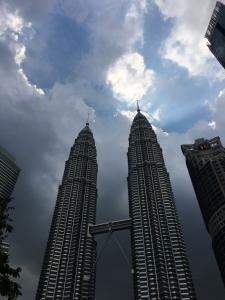 The Twin tower in Kuala Lumpur