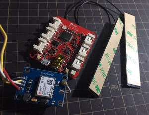 Wio LTE and GPS module