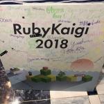 Signatures of RubyKaigi attendees