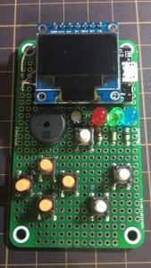 Arduboy compatible console